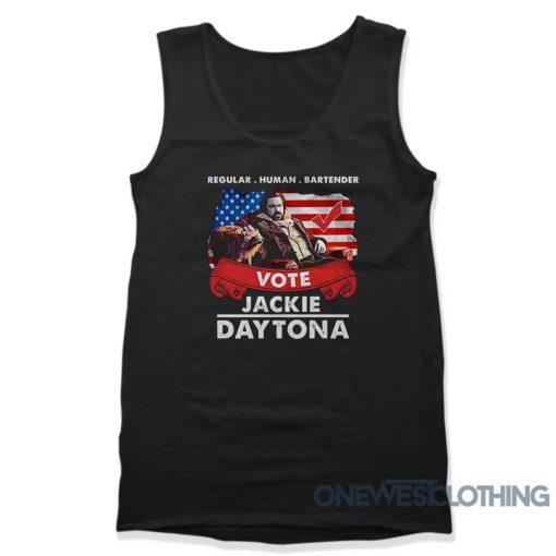 Vote Jackie Daytona Tank Top