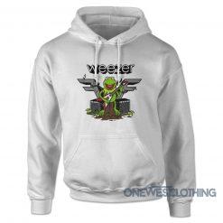 Weezer Kermit The Frog Hoodie